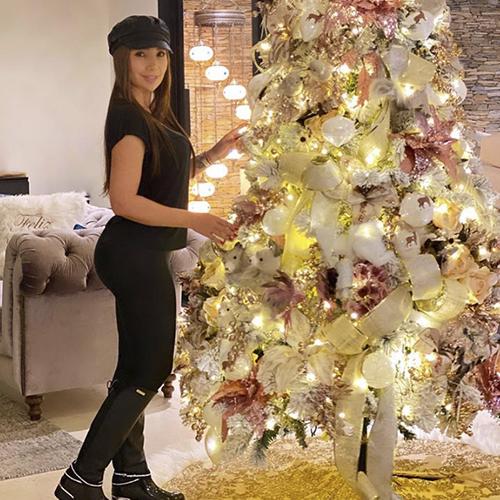 La cantante Paola Jara pidió para esta navidad mucha salud, luego de afrontar un año difícil en lo artístico, por las restricciones vigentes a los conciertos.
