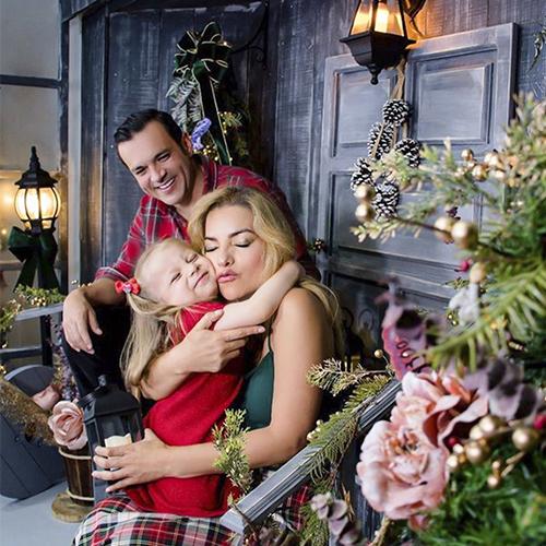 Juan Diego Alvira y su esposa Ana María Escobar celebran con todas las de la ley la navidad, para ellos los abrazos, los besos, el amor y la salud es lo más importante siempre.
