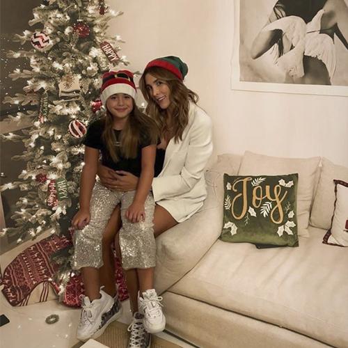 Daniela Ospina y Salomé Rodríguez ya decoraron su apartamento de Miami con el espíritu de la Navidad.